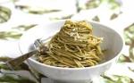 Pasta con aceite de oliva y ajo